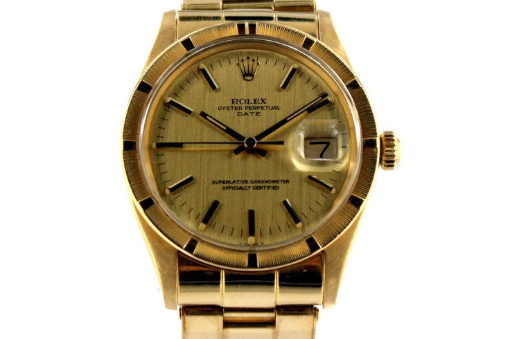 Buy a Rolex Oyster Perpetual, Date, Superlative Chronometer, Officially Certified watch in Classifieds on Presentwatch