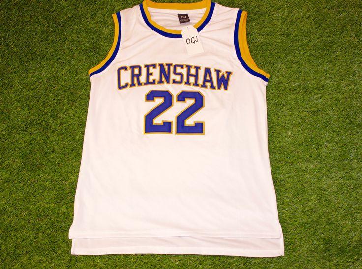 Quincy McCall 22 Crenshaw High School Jersey