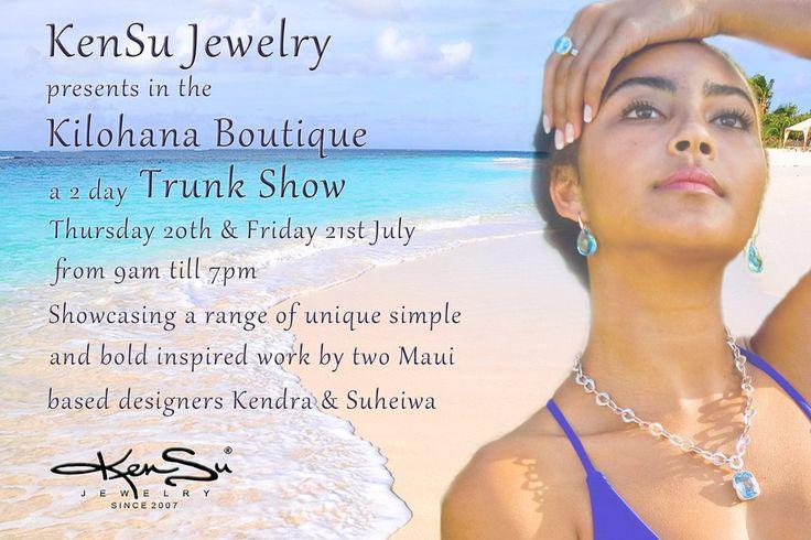 KenSu Jewelry Trunk Show in the Kilohana Boutique - Ritz Carlton Kapalua