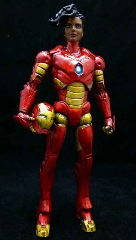 Ironheart (Riri Williams) (Marvel Legends) Custom Action Figure