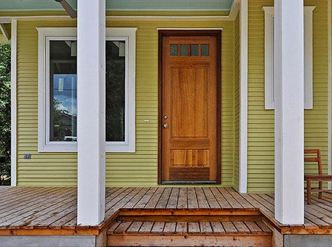 Really want a natural wood front door for the home for Natural wood front door