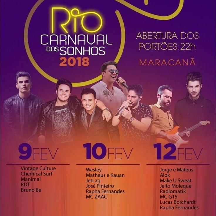 Carnaval dos Sonhos terá Alok, Wesley Safadão e sertanejos no Maracanã