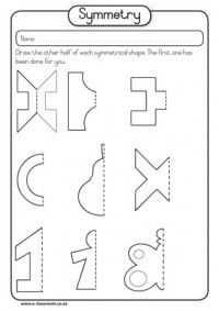 Worksheet Symmetry Worksheets 1000 ideas about symmetry worksheets on pinterest worksheets