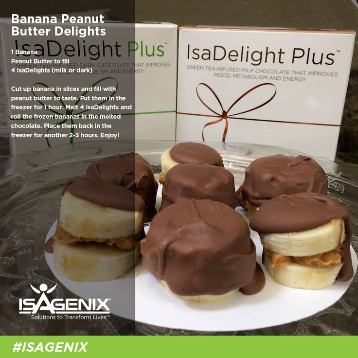 Sweeten up your Valentine's Day with these frozen Banana Peanut Butter Delights!