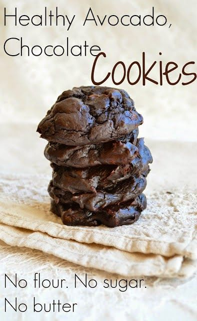 Health is Wealth Journal: Healthy Avocado Chocolate Cookies