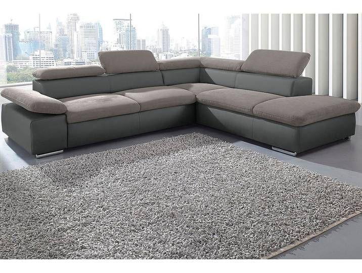 Sit More Ecksofa Grau 274cm Ottomane Rechts Fsc Zertifikat Fs Couch Home Decor Sofa