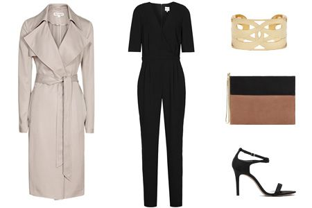 FASHION NOTES: Evening simplicity