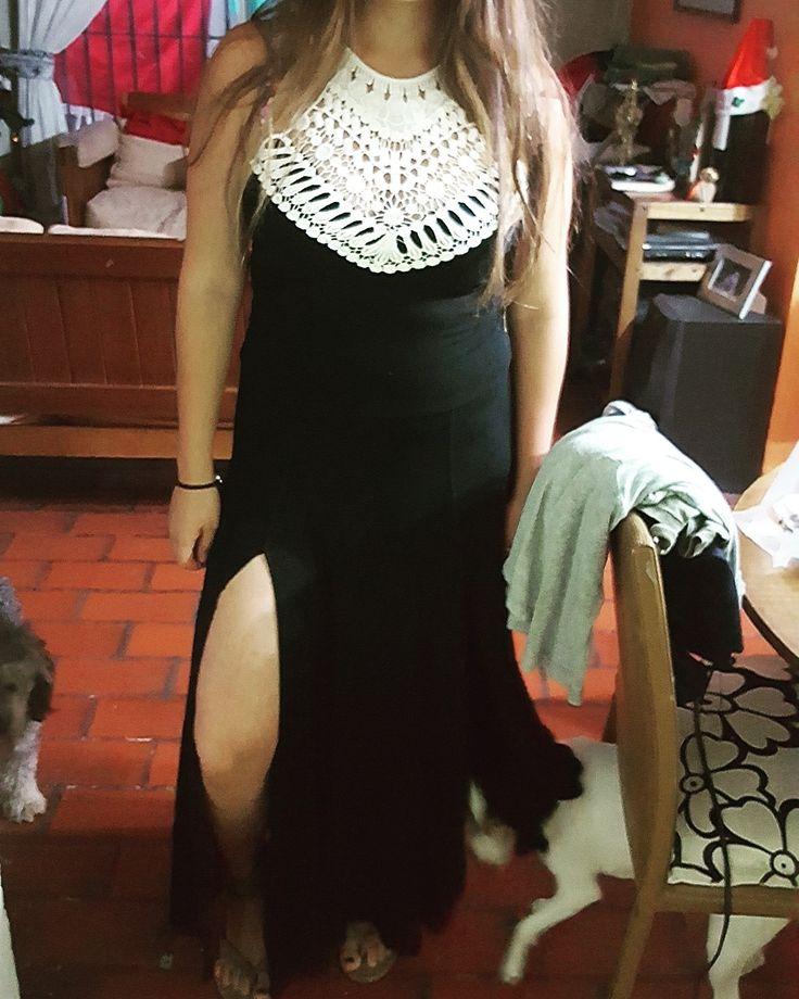 Transformacion de falda a vestido