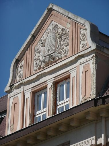 Anker ház homlokzata Kaposvár