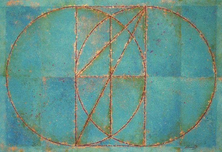 Vesica Piscis with Square Root of 2, 3 & 5
