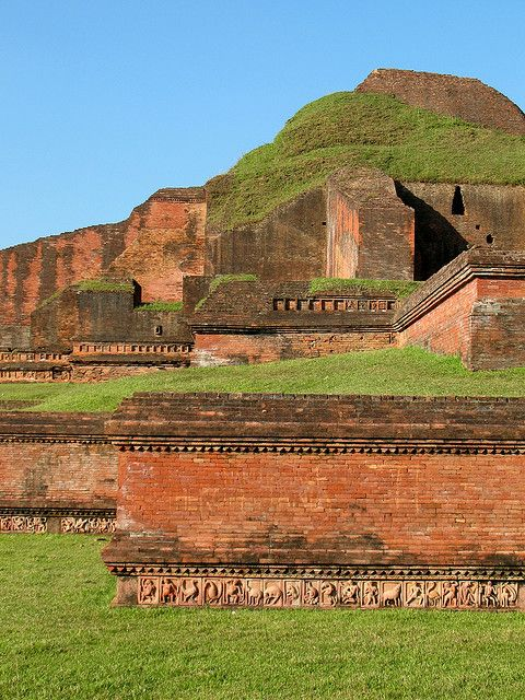 Buddhist Vihara at Paharpur, Bangladesh - a UNESCO World Heritage site.