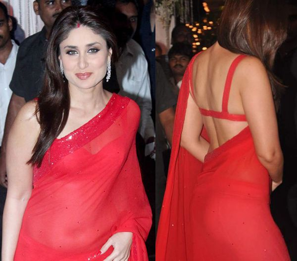 Kareena in Manish Malhotra Saree
