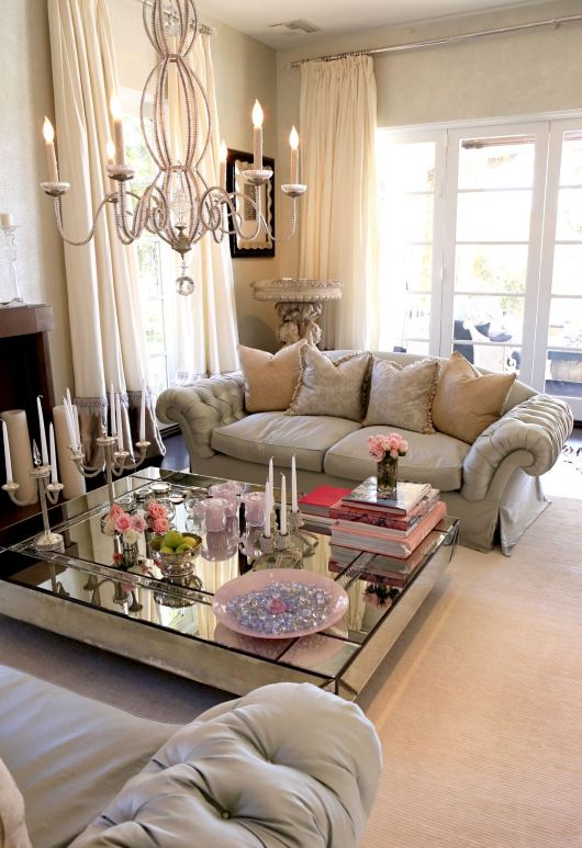 Check Out The Glam Living Room Of Lisa Vanderpump Decked Out In