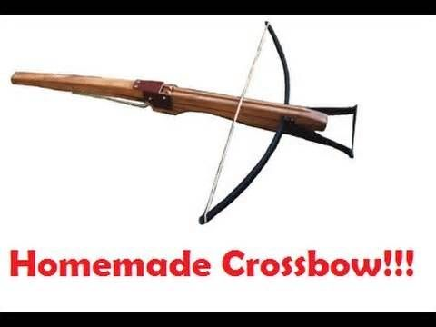 How to Build a 100lb Draw Crossbow in about 2 hours.