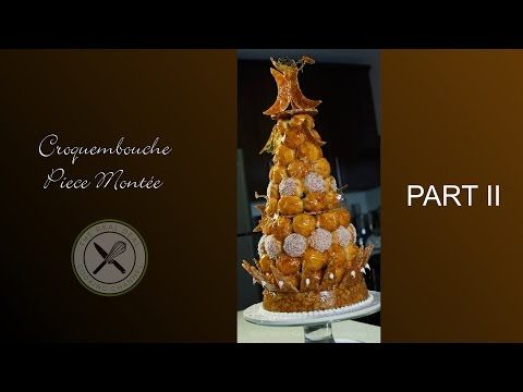How To Make Croquembouche Part2 – Bruno Albouze – THE REAL DEAL - YouTube