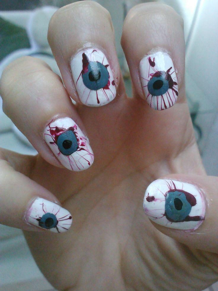 74 best Eyes On Nails images on Pinterest   Nail scissors, Nail art ...