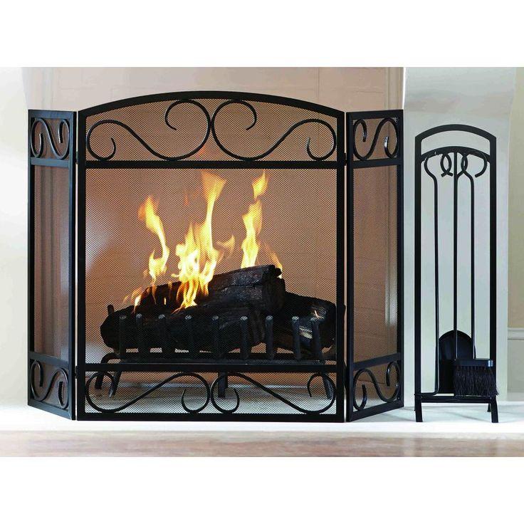 Fireplace Design metal fireplace screen : 14 best Fireplace screens images on Pinterest