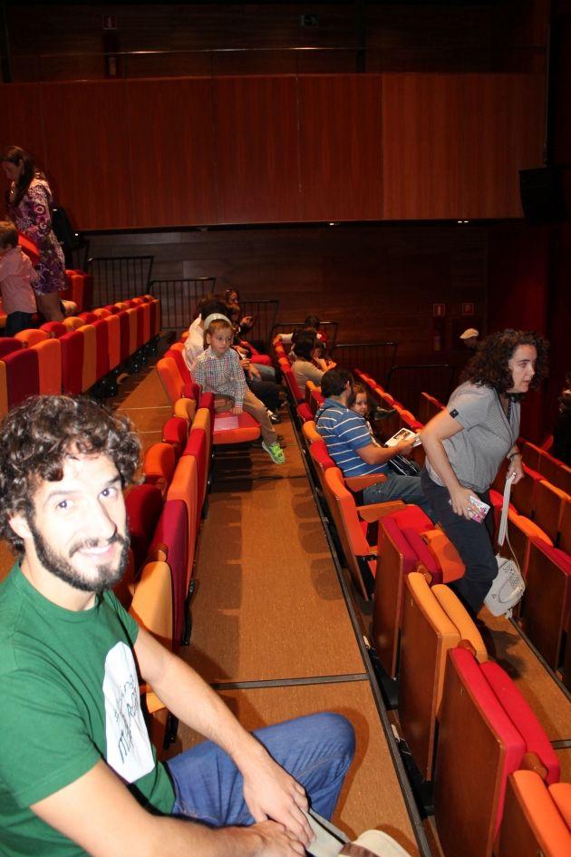 Asientos del Teatro Echegaray