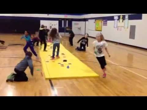 Fun Game for P.E. Class - Save the Treasure - YouTube