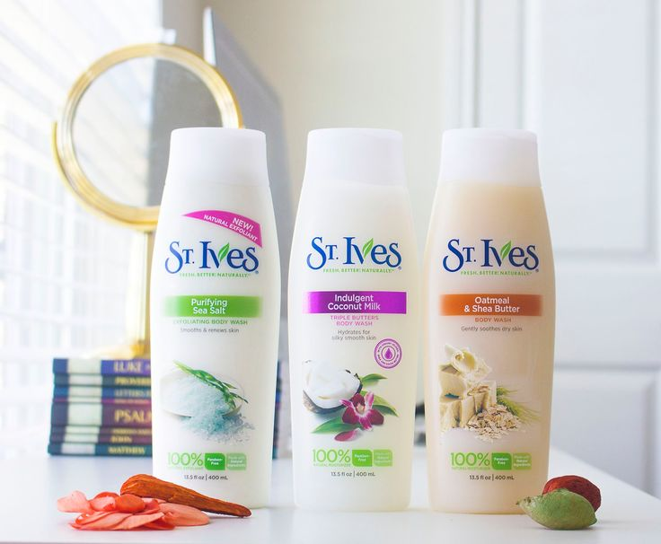 St. Ives Body Wash product review