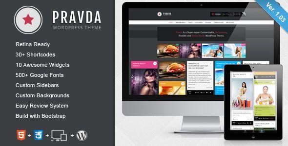 WordPress - UltraFire - Retina Responsive WordPress Blog Theme | ThemeForest