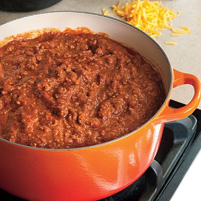 Game Day Chili | These meaty favorite is perfect for a football party. It freezes beautifully for a super quick meal another day.
