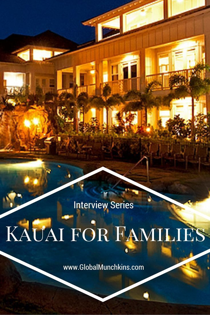 Family Friendly things to do and see plus places to eat while in Kauai.  An interview with Gary Taylor from the Villas at Poipu Kai Resort.  See more family fun ideas in Hawaii at www.GlobalMunchkins.com