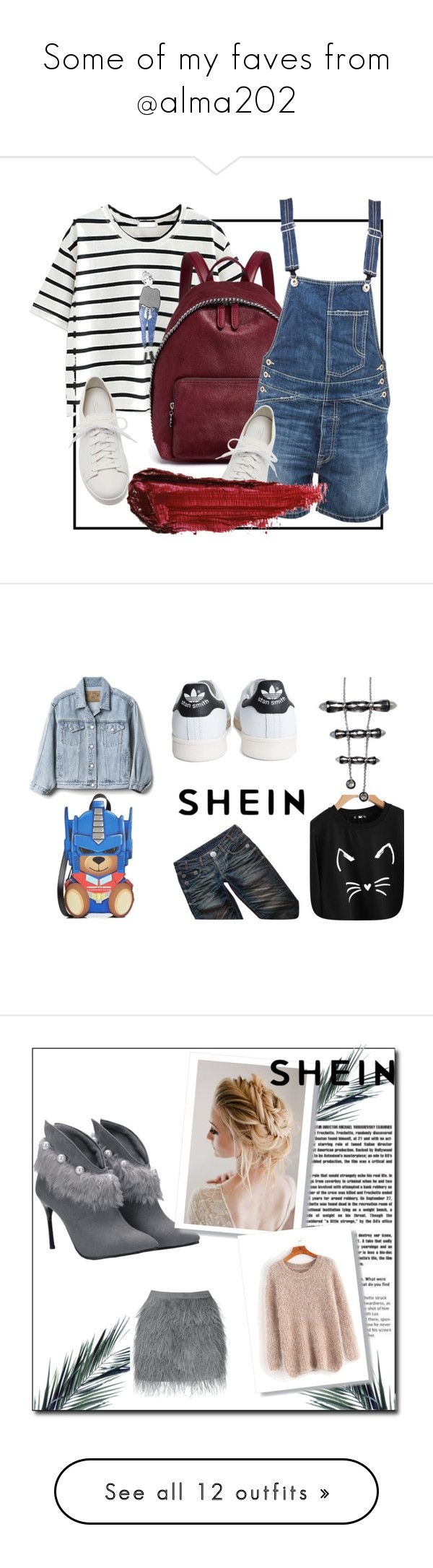 """Some of my faves from @alma202"" by xonfident ❤ liked on Polyvore featuring Santoni, STELLA McCARTNEY, Dondup, By Terry, Thomas Wylde, adidas, Gap, Moschino, Origin 31 and New Growth Designs"