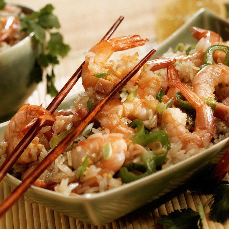 Découvrez la recette Crevettes sautées à l'ail sur cuisineactuelle.fr.
