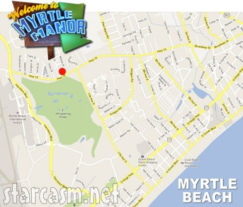 Myrtle Manor Patricks Mobile Home Park In Beach