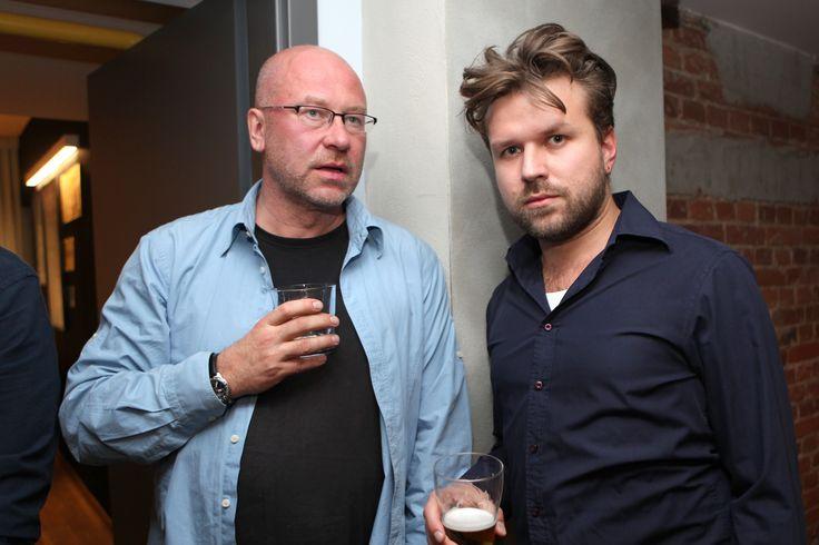 Paweł Wendorff (Animapol) and Łukasz Lach (L.Stadt)
