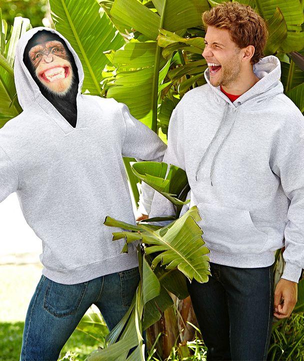 L'ultima novità nel campo degli indumenti personalizzabili, concepita per consentire la stampa sul retro del cappuccio.
