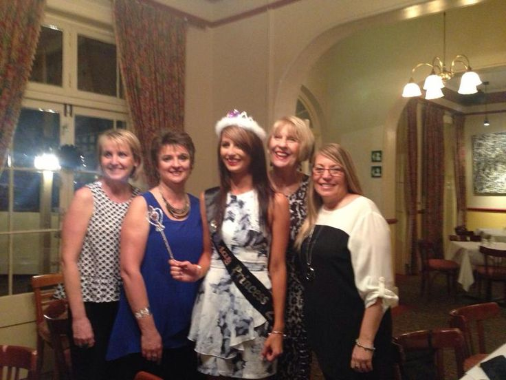 The girls all celebrating little Bec's 21st birthday on the weekend!