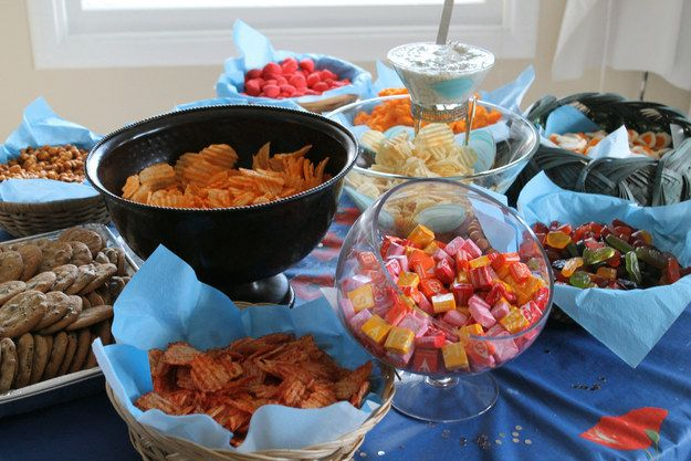"""Have an """"open bar"""" for the kids. 