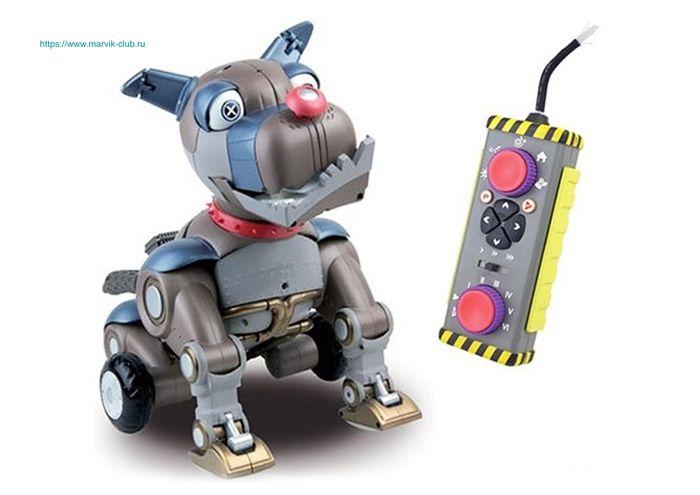 Собака робот WREX ведет себя, как настоящая собака. Не ...