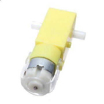 Постоянного тока 3В - 6В двойной осью мотор шестерни 2 оси ТТ мотор редуктор мотора для Arduino умный автомобиль
