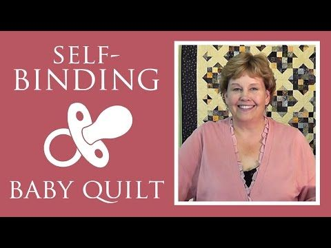 If You're Looking For A Great Baby Gift, This Self Binding Baby Quilt Is Perfect! - 24 Blocks
