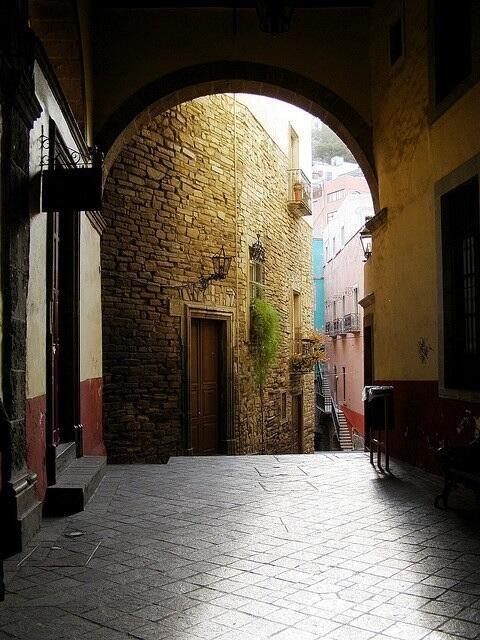 Los pasillos de Guanajuato