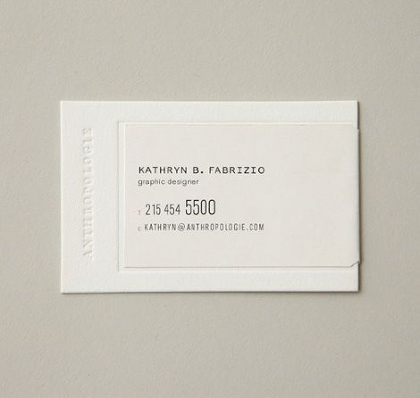 326 best business cards images on pinterest business cards anthropologie business card identity branding business cards design colourmoves