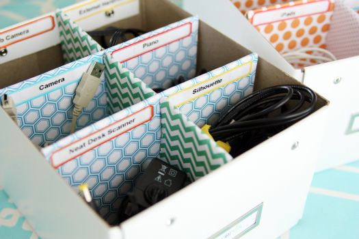 all those cords are now organized.: Organizing Ideas, Organization, Organizations Ideas, Organizations Cords, Cords Storage, Cords Organizations, Diy Home, Cord Storage, Home Offices
