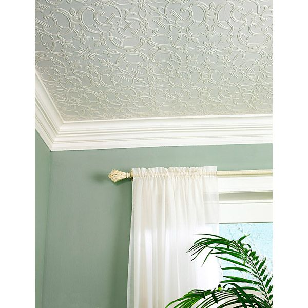 148-62986 Paintable Damask Paintable Wallpaper - Chateau - Brewster Wallpaper