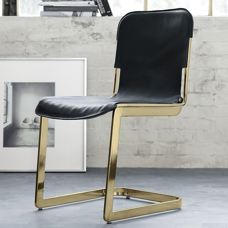 The Rake Brass Chair was designed exclusively for in collaboration with  Kravitz Design by Lenny Kravitz.