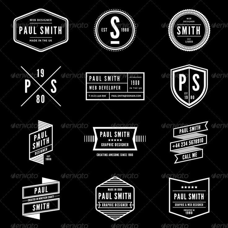 personal resume logos