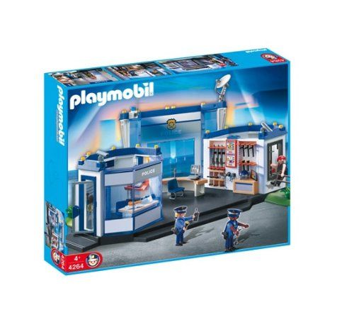 $104.99 Playmobil Police Headquarters  From PLAYMOBIL®   Get it here: http://astore.amazon.com/toys4kids09-20/detail/B001O7DLSG/186-4678595-8875665