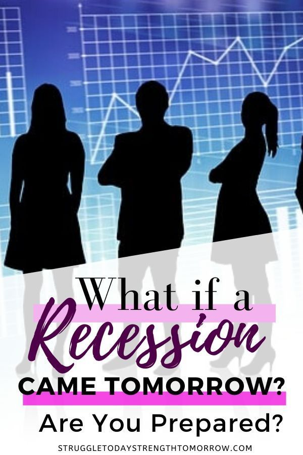 How To Prepare For A Recession In 2020 With Images Frugal