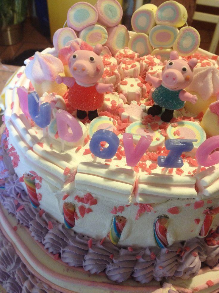 Candy cake Peppa Pip