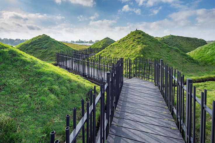 Museum covered in Grass in Netherlands – Fubiz Media