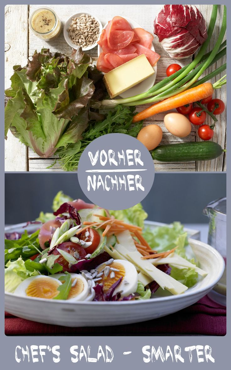 So ein Salat ist doch was Leckeres! http://eatsmarter.de/rezepte/chefs-salad-smarter