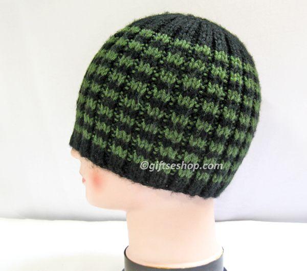Knit Rib Stitch Hat : Knitting rib hat free pattern Hats headbands Pinterest