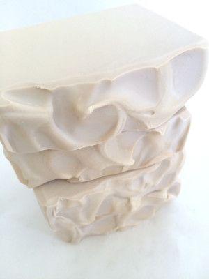 Creamy Coconut Soap using heavy cream.
